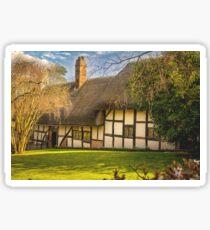Anne Hathaway's Cottage Sticker