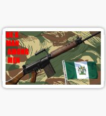 The Rhodesian Experience Sticker