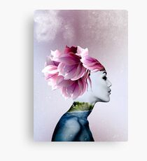 Surreal Digital Portrait Canvas Print