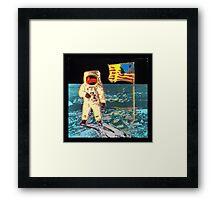 Moon Walk - Andy Warhol Framed Print