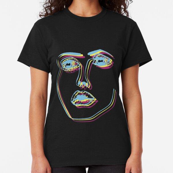 Tri-Colour Disclosure Face Classic T-Shirt