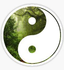 Yin Yang Jungle Sticker