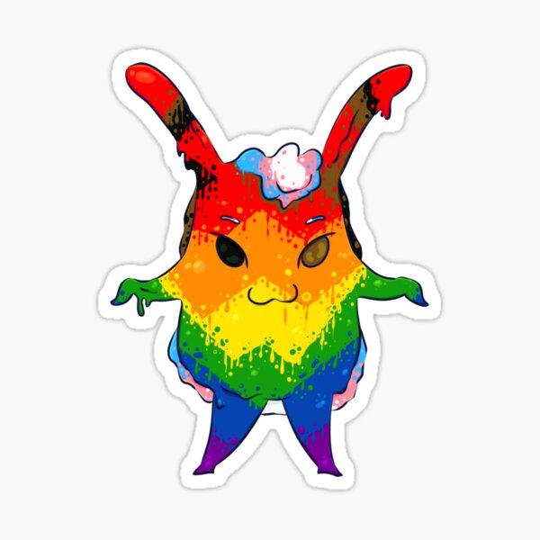 Rokilo Jelly Monster - Pride Flag Sticker