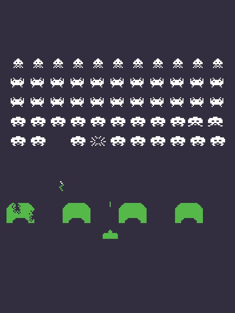 Space Invaders - the original 1978 arcade version! by AlienAardvark