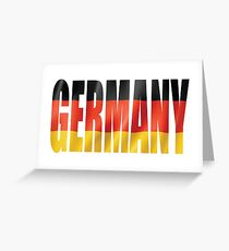 Germany Greeting Card