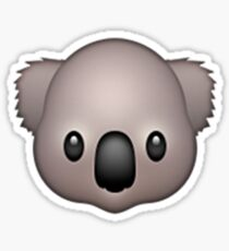 Emoji Koala Sticker