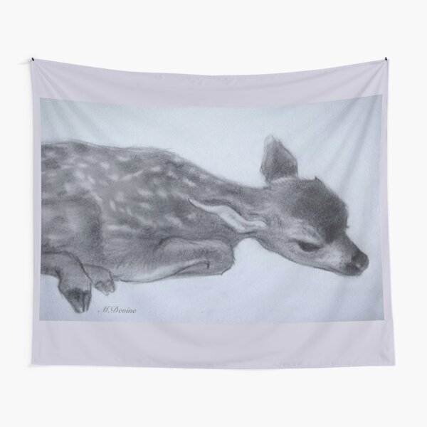 Little Fawn  Tapestry