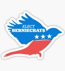 Elect Berniecrats Sticker
