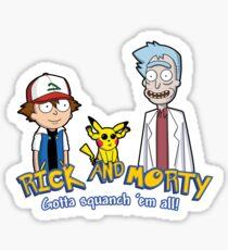 Rick and Morty - Gazorpazorpmon Sticker