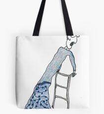 Fragile Frida (one-line #122) Tote Bag