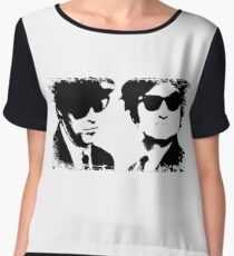 The Blues Brothers Women's Chiffon Top