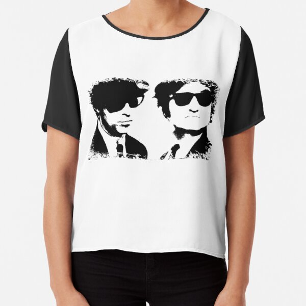 The Blues Brothers Chiffon Top