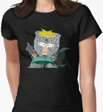 Professor Chaos Women's Fitted T-Shirt