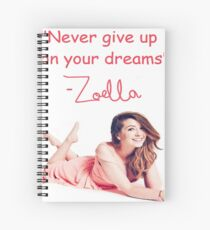 Zoella - DREAMS Spiral Notebook