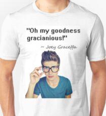 Joey Graceffa - OH MY GOODNESS GRACIANIOUS Unisex T-Shirt