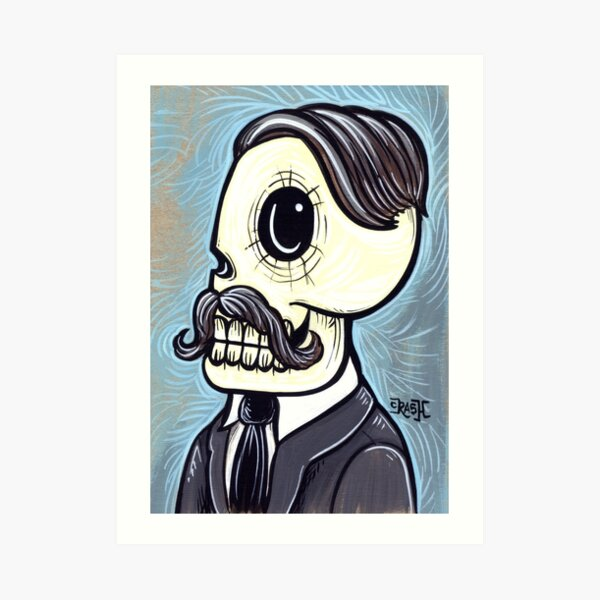 Mr. Blue Art Print