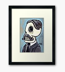 Mr. Blue Framed Print