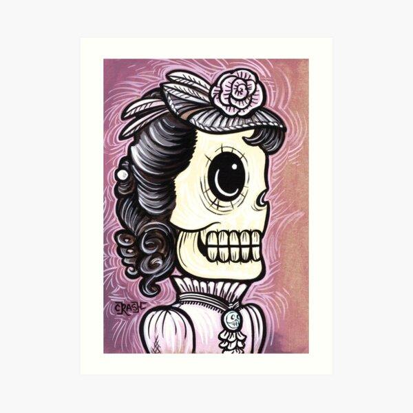 Ms. Pink Art Print