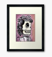 Ms. Pink Framed Print