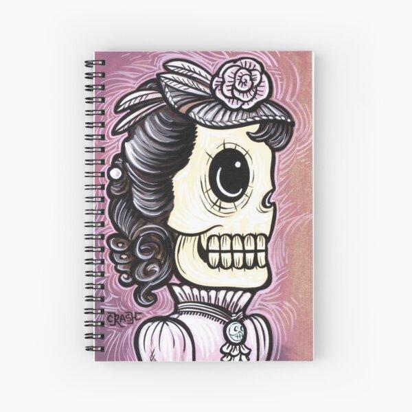Ms. Pink Spiral Notebook
