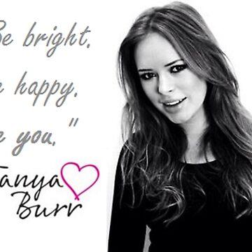 Tanya Burr - BE YOU by shykitten