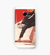 Sovjet Poster: The Ghost of Communism is in Europe (Lenin) Samsung Galaxy Case/Skin