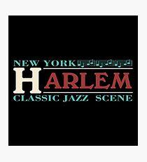 Harlem jazz music Photographic Print