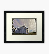 Mount Lambie Church Framed Print