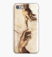 Michaelangelo - Sistine Chapel - Creation of Adam iPhone Case/Skin