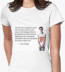 Joe Sugg - WEIRDNESS Womens Fitted T-Shirt