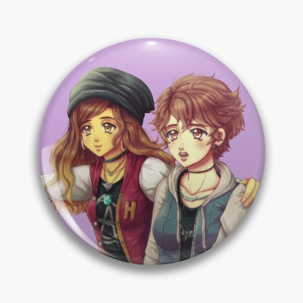 Rachel and the main character Pin