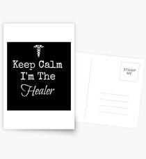 Keep Calm, I'm the Healer! Postcards
