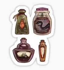 Witch's potion set I Sticker