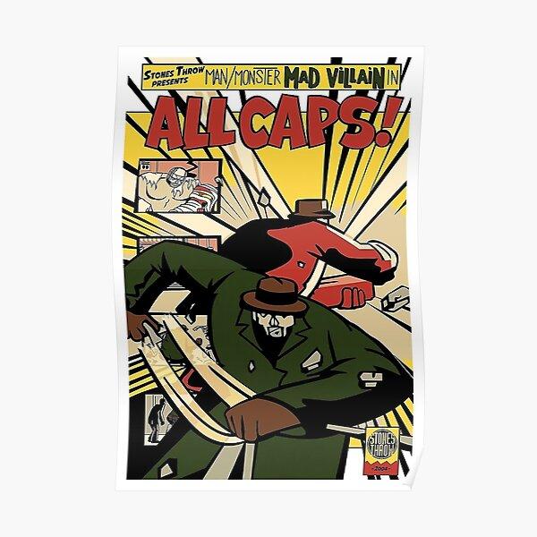 Doom All Caps Poster