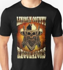 Lincoln County Regulators Design Unisex T-Shirt
