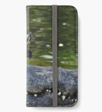 Alligator and Turtle, As Is iPhone Wallet/Case/Skin