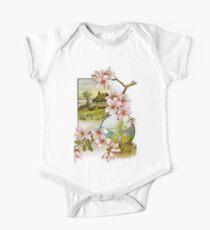 Victorian Pink Floral Kids Clothes