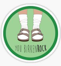 BirkenROCK Sticker
