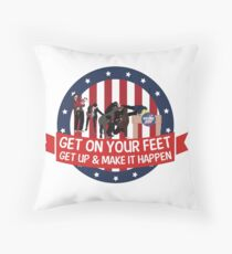 Knope 2012 Campaign Throw Pillow