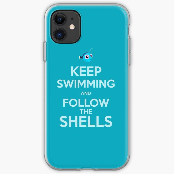 Keep Swimming iPhone Soft Case