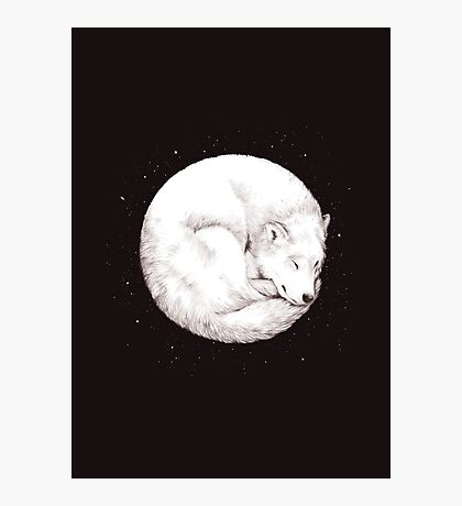 The Howl of the Moon Photographic Print