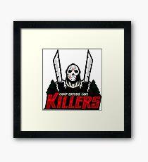 Camp Crystal Lake Killers Framed Print