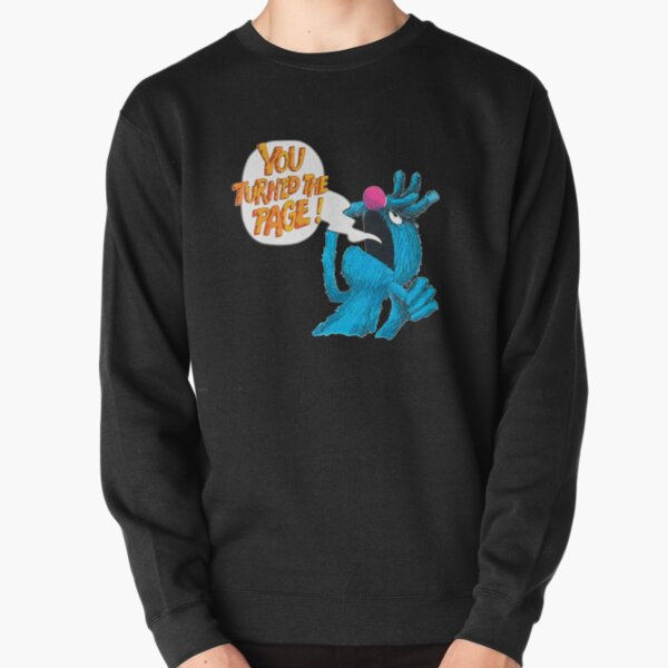 Retro Vintage The Monster at The end of This Book Gift For Fans, For Men and Women Pullover Sweatshirt