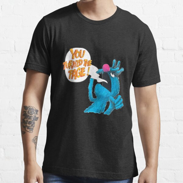 Retro Vintage The Monster at The end of This Book Gift For Fans, For Men and Women Essential T-Shirt