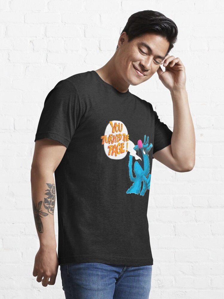 Alternate view of Retro Vintage The Monster at The end of This Book Gift For Fans, For Men and Women Essential T-Shirt