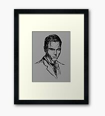 Alex Krycek V01 Framed Print