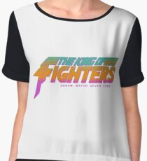 The King of Fighters '89 Women's Chiffon Top