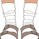 «Birkenstocks y calcetines» de Hannah Byers