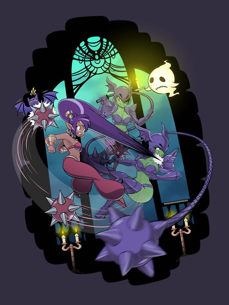 Shantae Cackle Tower by OmegaSunBurst