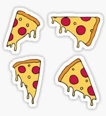 Pizzaschnitten Sticker